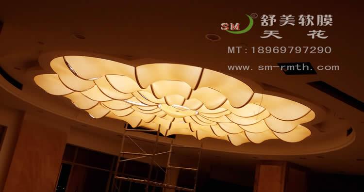 苍南万豪酒店宴会厅 - 温州舒美软膜天花装饰材料