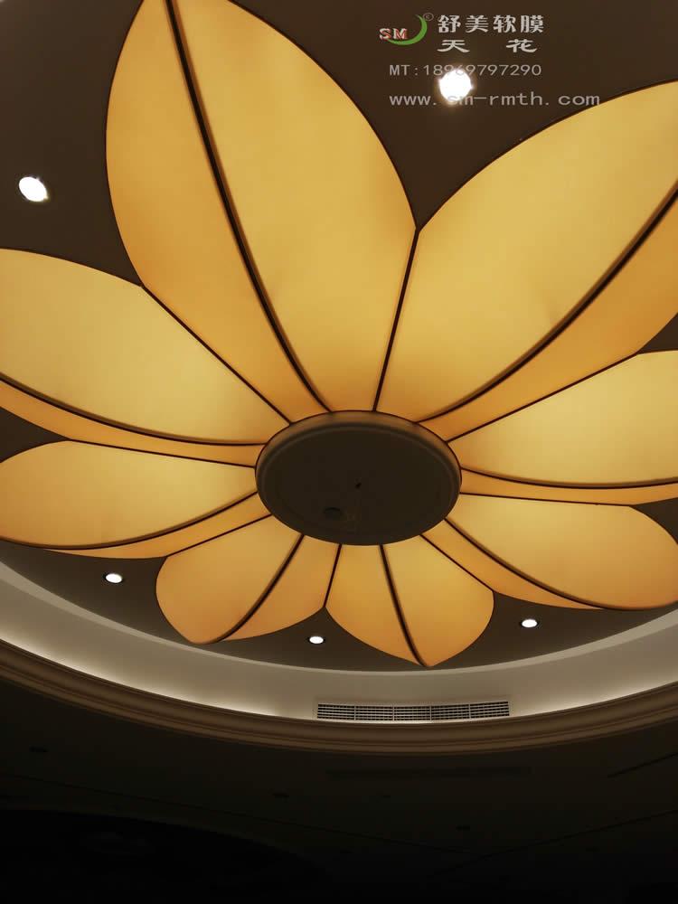 万豪一楼宴会厅 - 温州舒美软膜天花装饰材料